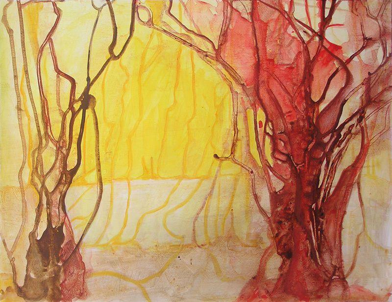 Peinture de Yolande Bernard (IV)