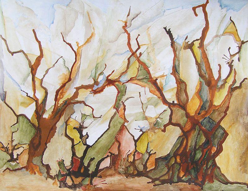 Peinture de Martine Lucy