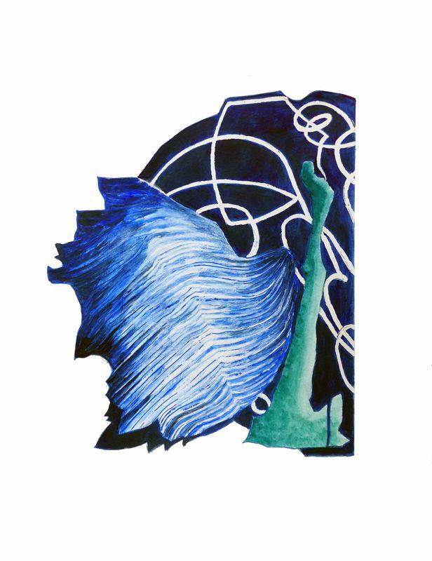 Peinture de Lucienne Cywier (II)