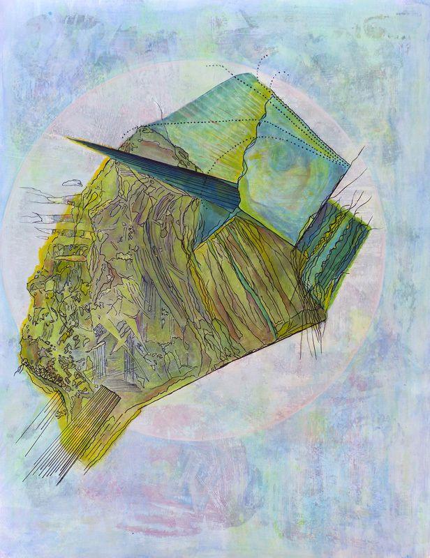 Peinture d'Ariane Lacroix