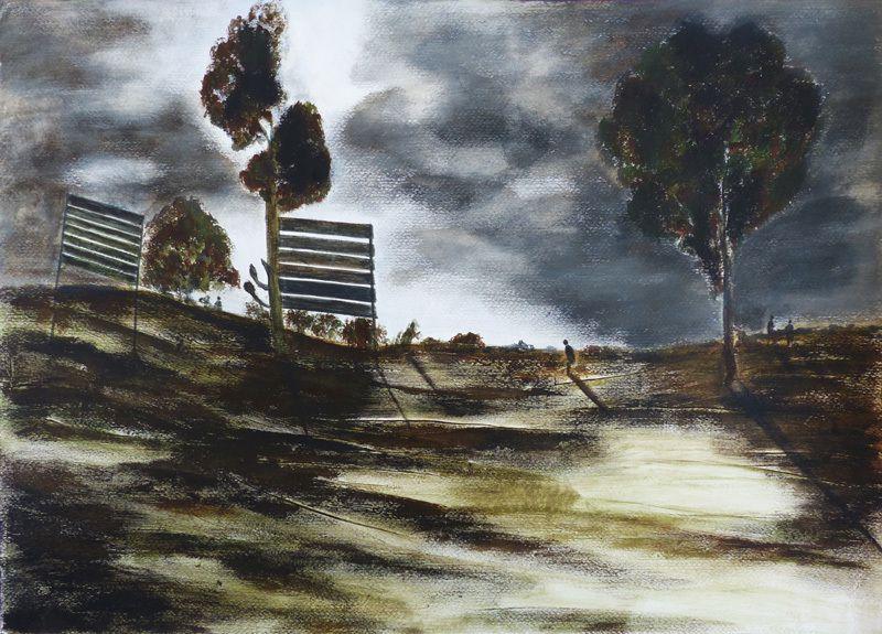 Peinture de Martine Lucy (II)