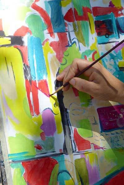 Cours de peinture à La Garenne-Colombes et à Paris