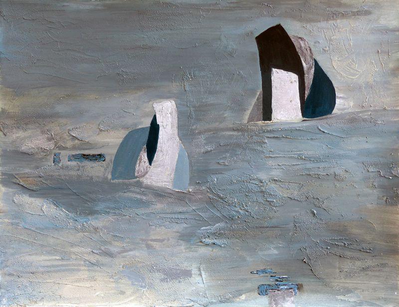 Peinture de Michèle Gallissot