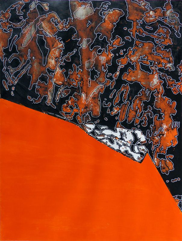 Peinture d'Elise Desvaux Nsongo