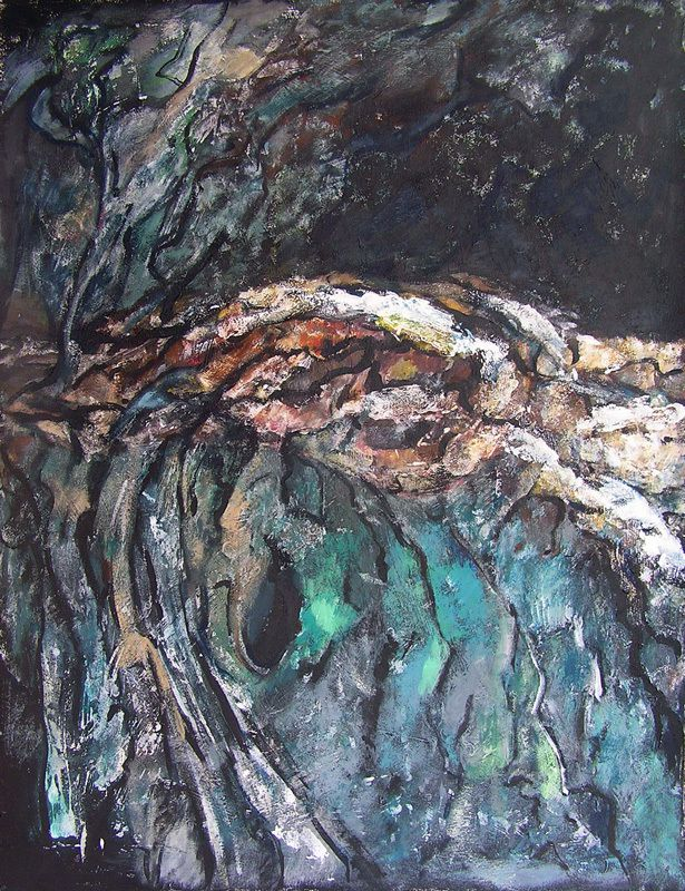 Peinture de Ladin Sabras