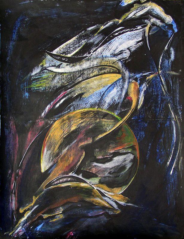 Peinture de Martine Aubrey