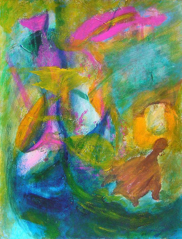 Peinture de Viviane Beaufumé