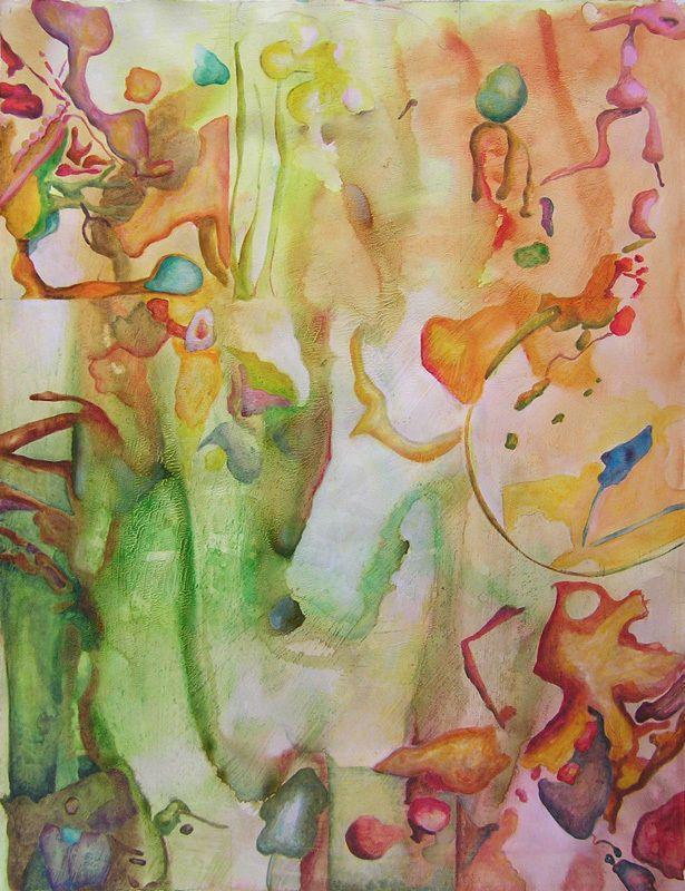 Peinture d'Elise Durand Bazin