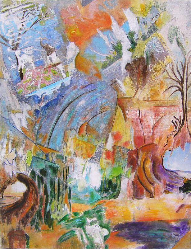 Peindre en liberté : herbes et fleurs, arbres et fruits