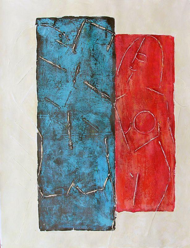 Peinture de Françoise Fourcault