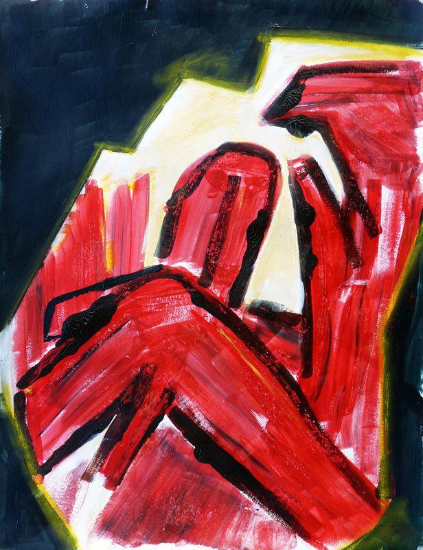 Peinture de Madeleine Molinier-Sergio