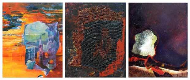 Stage Peindre en liberté - Peintures de Brigitte Balon