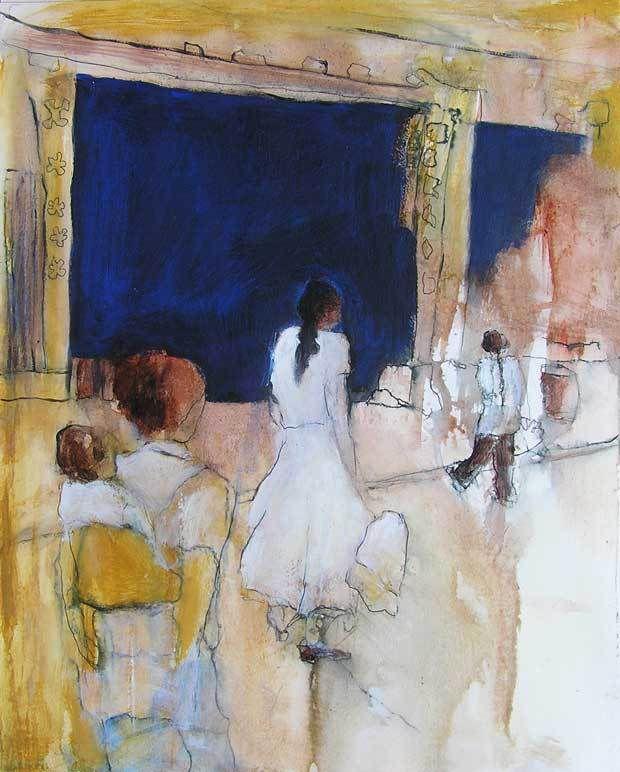 Stage Peindre en liberté avec Yves Desvaux Veeska - Composition de Marie Bahezre