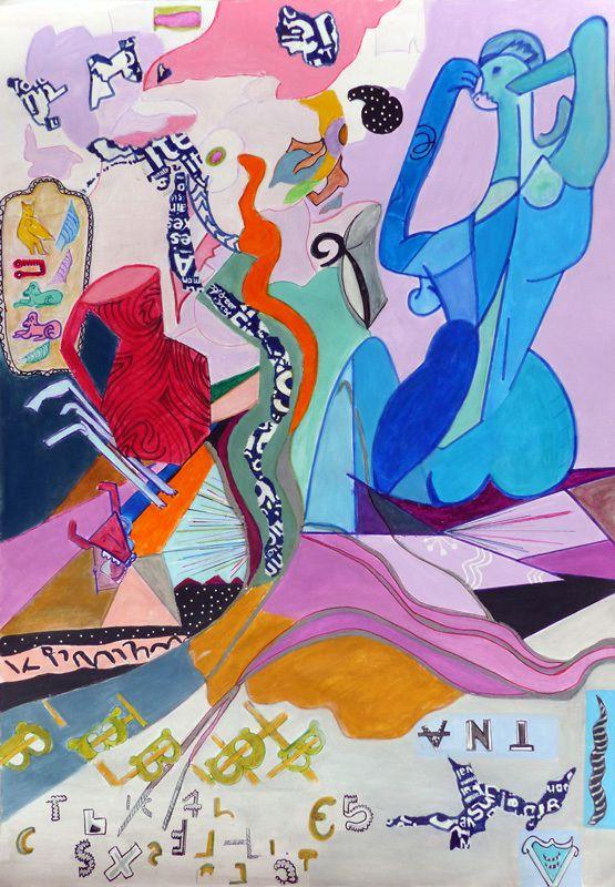 Peintures en neuf mois - Michelle Brycman - Peindre en liberté