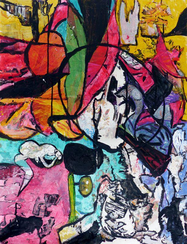 Peinture en neuf mois - Danielle Reissner - Peindre en liberté