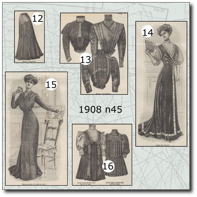 La mode illustrée 1908