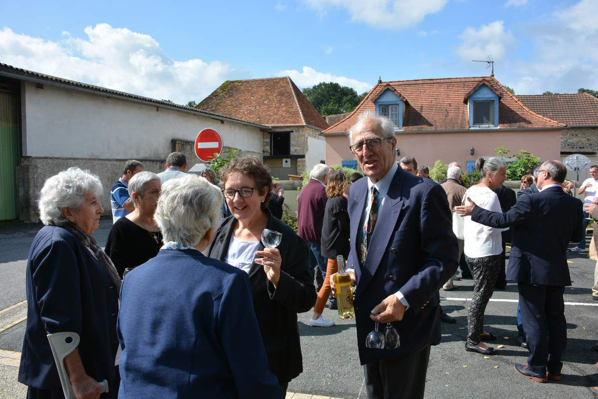ARAUJUZON : LA TRAVERSEE DU VILLAGE EMBELLIE ET SECURISEE