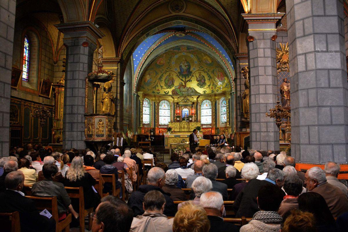 SARRANCE : LE JUBILE DE L'ABBE PIERRE DE LA VALLEE D'ASPE