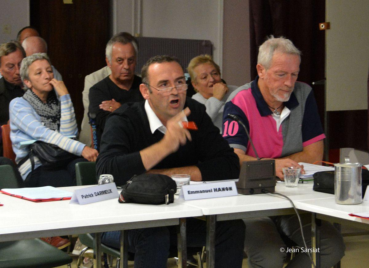 ORTHEZ : Un conseil municipal animé,  en images