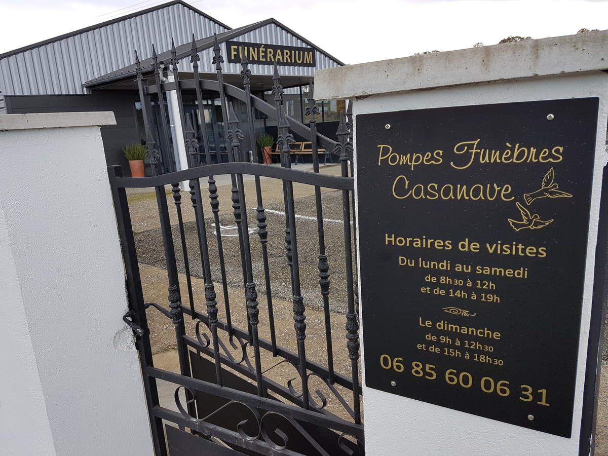 NAVARRENX : VISITE INAUGURALE DU FUNERARIUM DE CASTETNAU