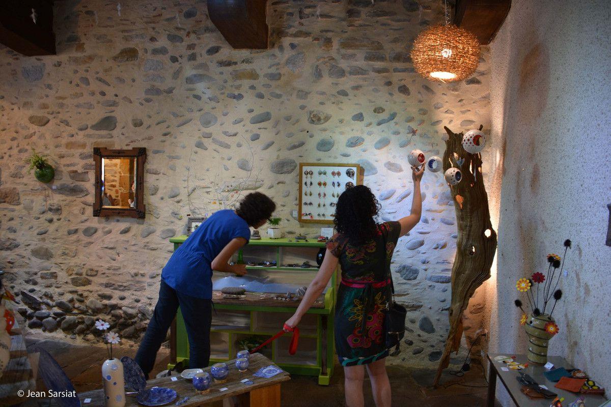 NAVARRENX :  LA PORTE  St ANTOINE S'OUVRE SUR LES ARTS
