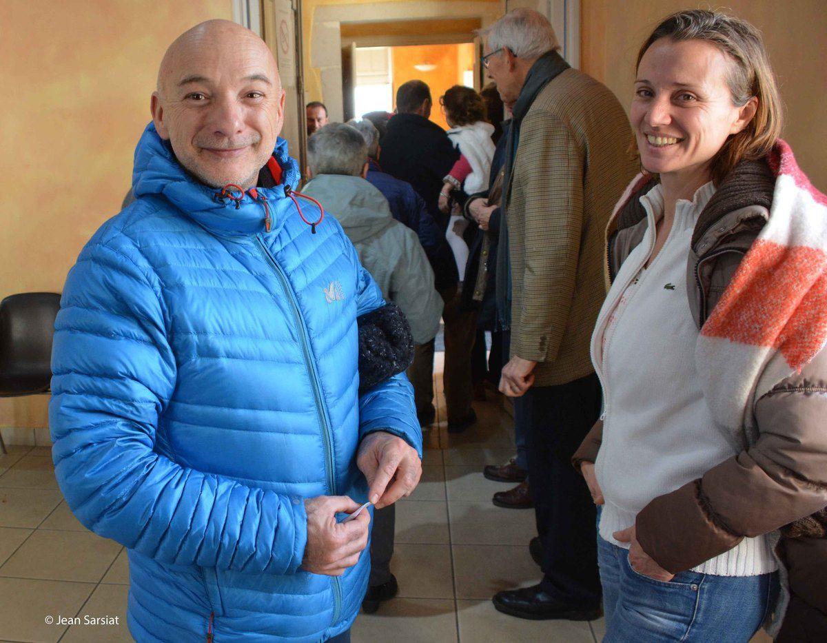"""Un couple de la Côte Basque venu pour un week-end de repos à Sauveterre, """"perle du Béarn"""""""