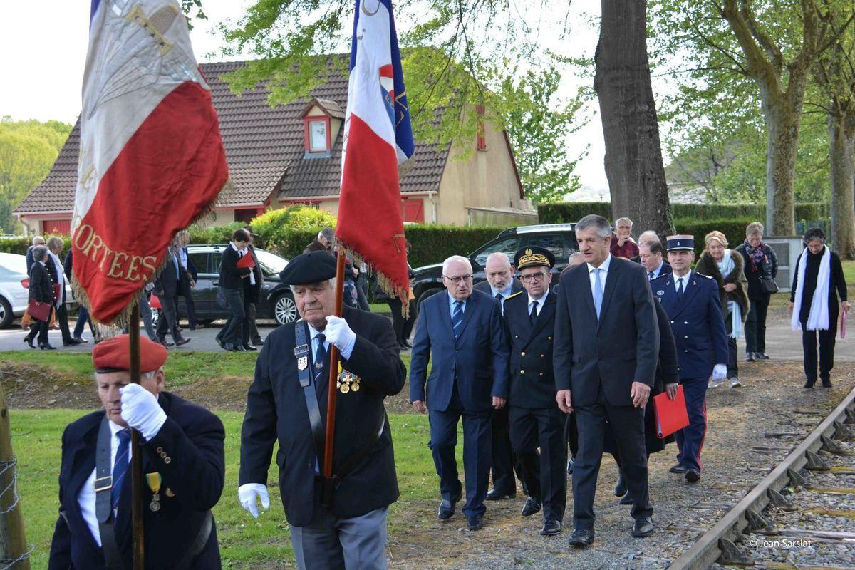 CAMP de GURS : LA CEREMONIE DU SOUVENIR