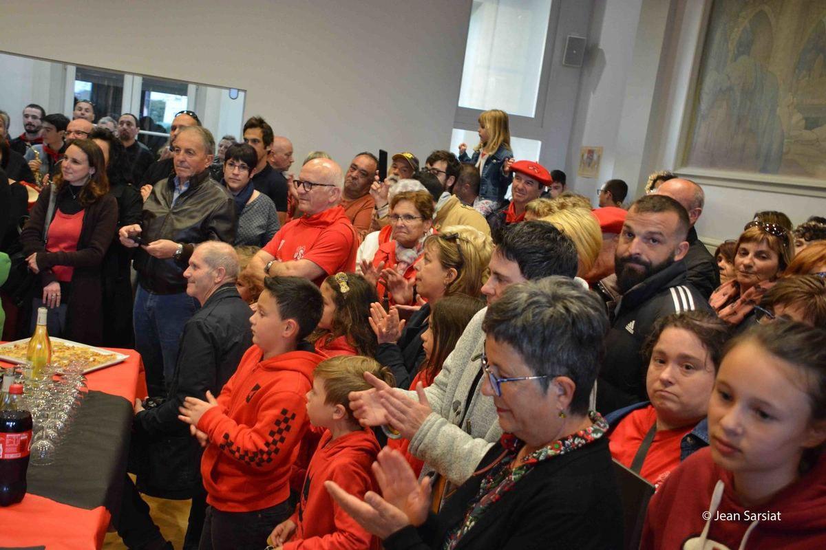 U.S.O-BASKET : LES DEMOISELLES D'ORTHEZ RECUES A LA MAIRIE AVEC LES HONNEURS