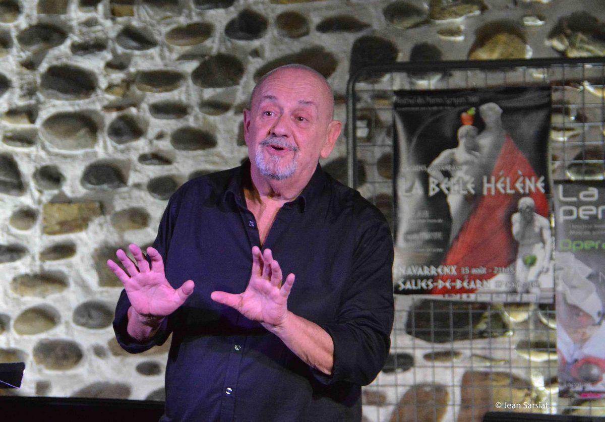 THEATRE MUSICAL  : MONSIEUR OFFENBACH MIS EN SCENE A GURS
