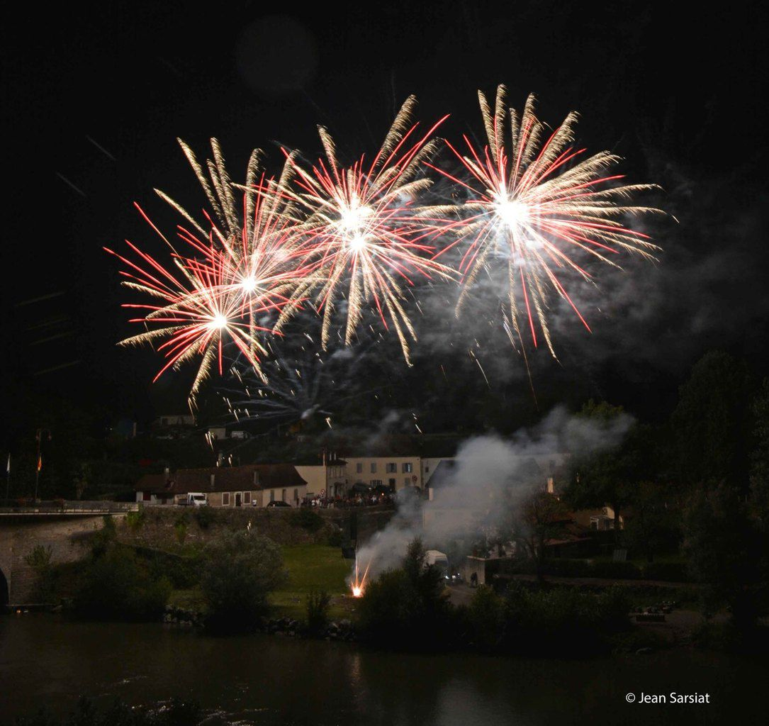 NAVARRENX :  UN ROYAL FEU D'ARTIFICE !!!