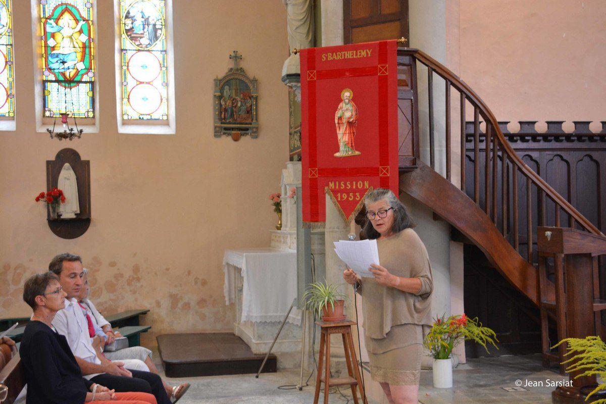 JASSES : L'inauguration et bénédiction du clocher rénové