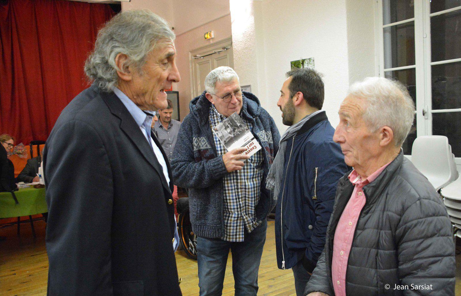 SALON DU LIVRE : La conférence  sur le rugby a donné le coup d'envoi