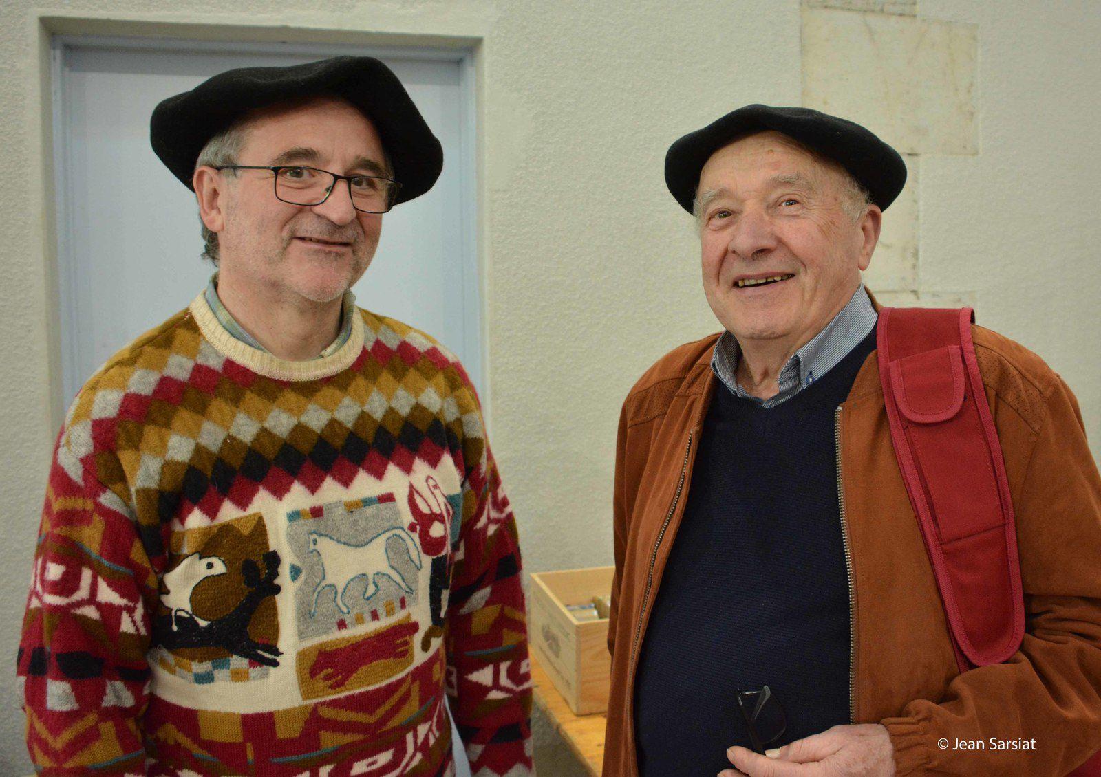 Laurent Frontères et  Joseph Miqueu, le Béarn dans le coeur et bounet sur la tête