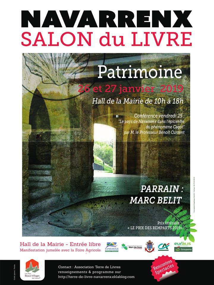 NAVARRENX : L'ANNEE RECORD DU SALON DU LIVRE