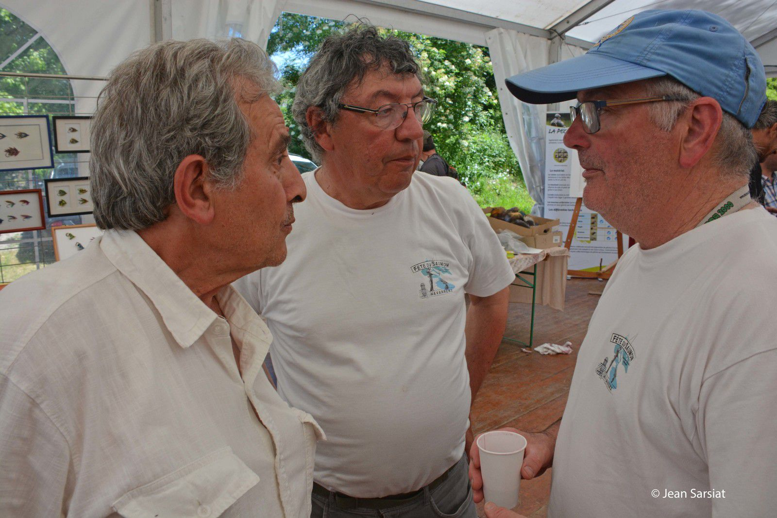 Jacques Gjini, Patrick Laurent et Patrick Balesta (photo archive)