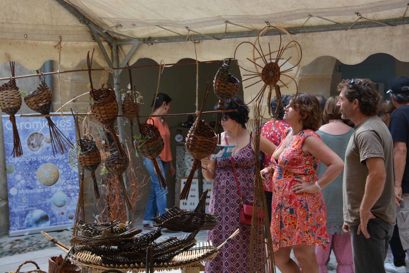 NAVARRENX : Les 11, 12 et 13 juillet, les artisans animent la bastide