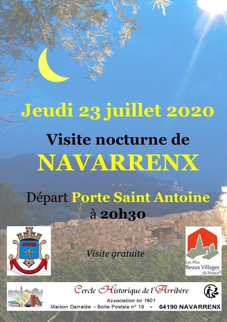 NAVARRENX : DECOUVERTE NOCTURNE DE LA VILLE FORTIFIEE