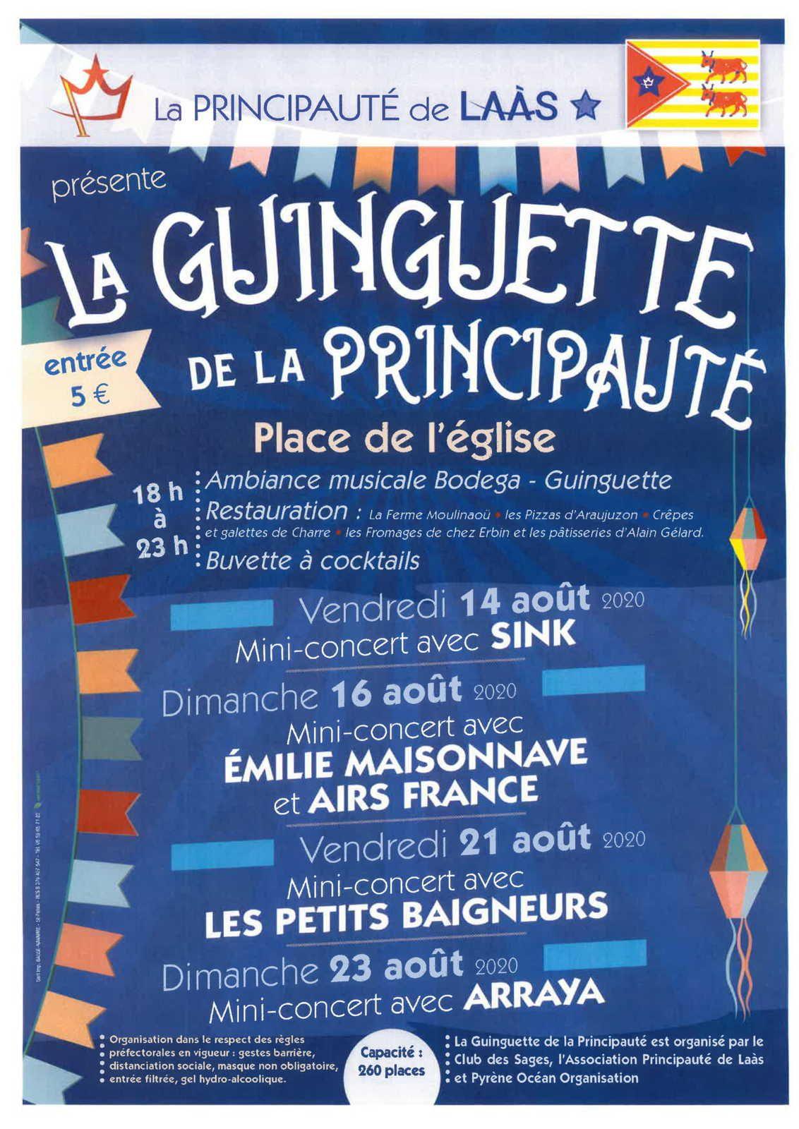 BEARN des GAVES : CREATION de  4 SOIREES GUINGUETTES et MAINTIEN des 3 HEURES DE LA BROUETTE