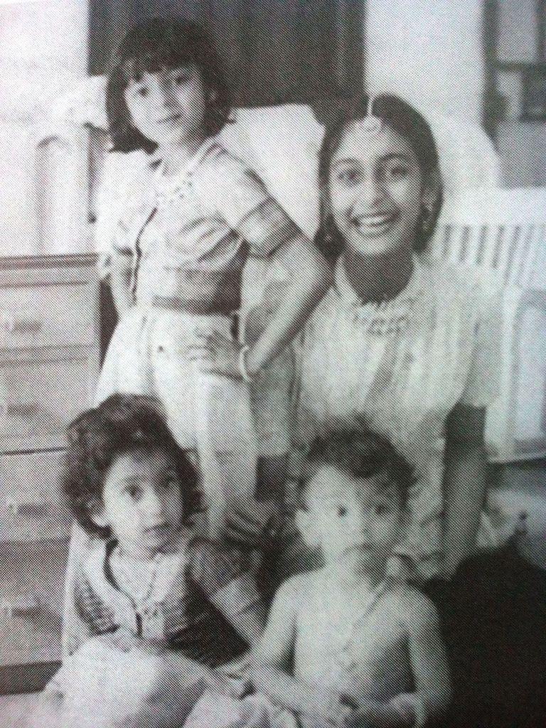 Nutan and the Samarth family