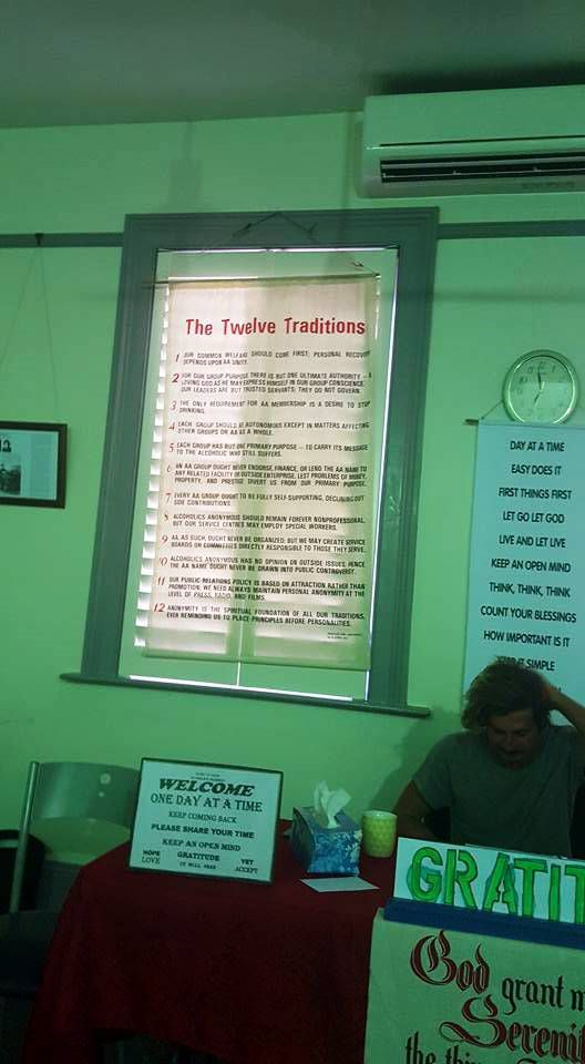 AUSTRALIE Alcoholics Anonymous