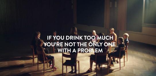Si vous buvez trop, vous n'êtes pas le seul à avoir un problème