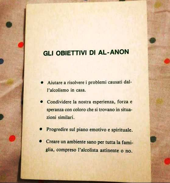 Les objectifs de Al-Anon