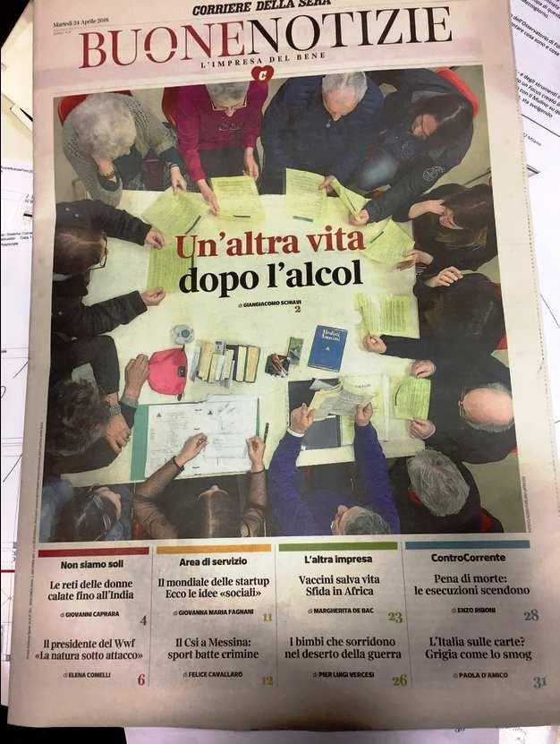 24 Avril 2018 : Corriere Della Sera