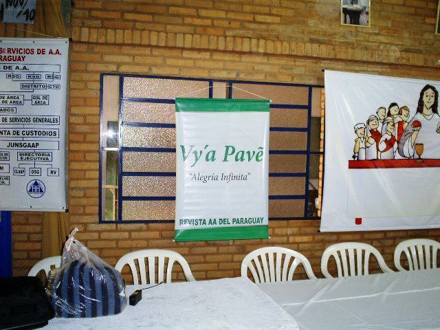"PARAGUAY : Revista AA ""VY'A PAVE"""