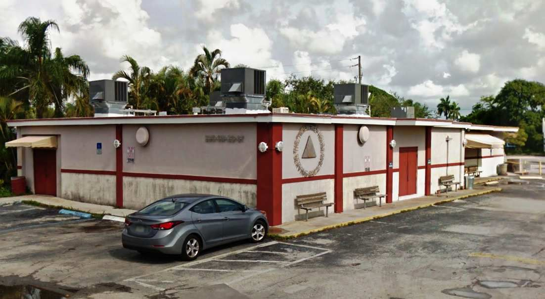 USA, Fort Lauderdale : The 12th Step House