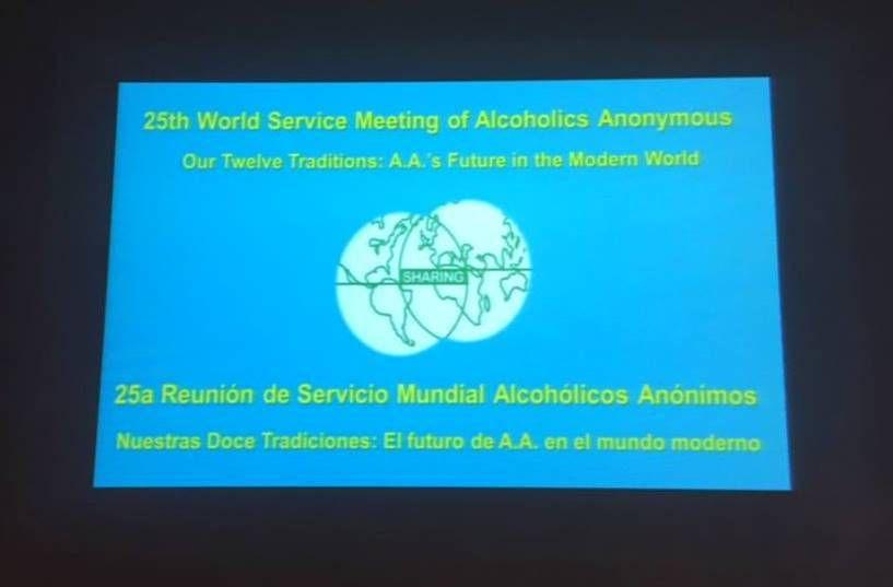 AA 25th World Service Meeting
