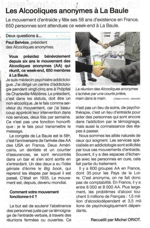 Ouest-France, 16 11 2018
