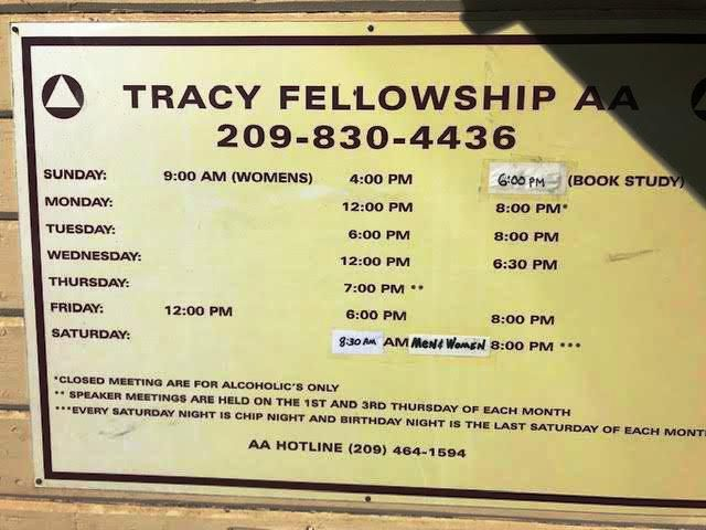 USA, Tracy Fellowship AA