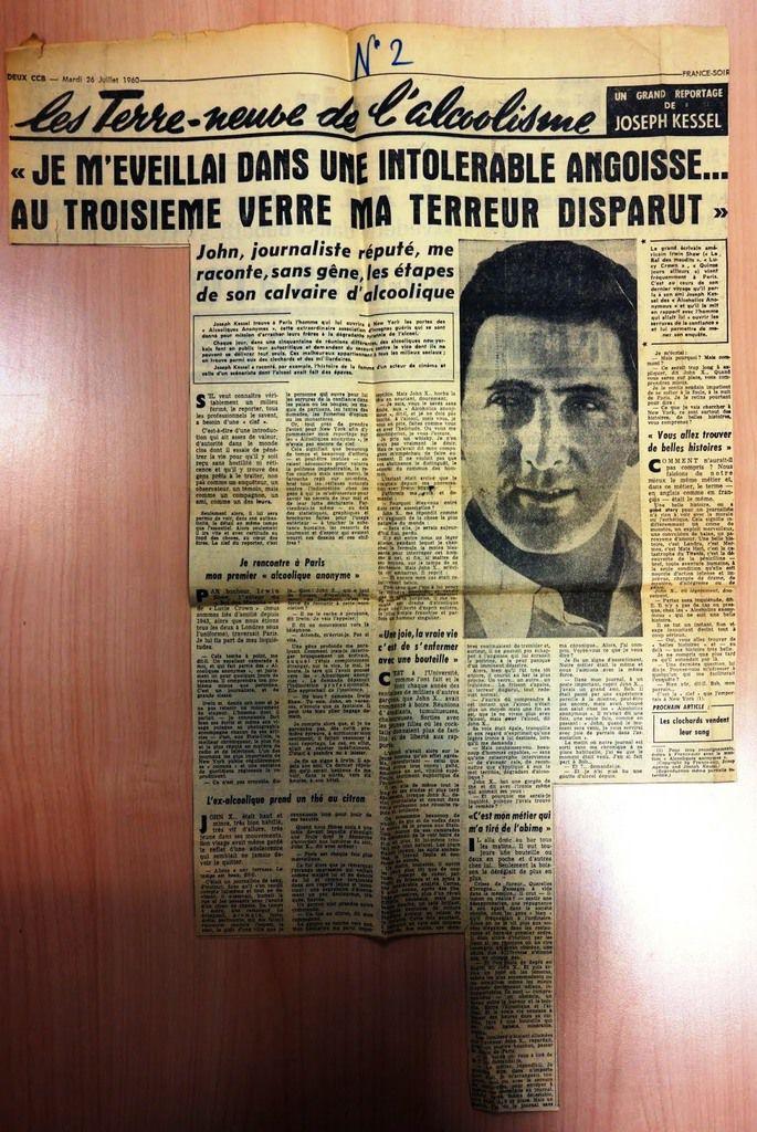 """France-Soir"", 26 Juillet 1960 : Reportage de  Joseph Kessel"