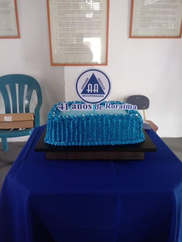 Août 2018 : 41° anniversaire de AA dans l'Etat de Roraima